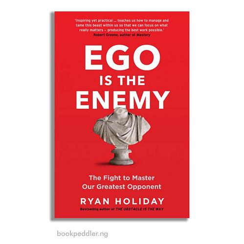 Ego is the enemy - Bookholics.lk